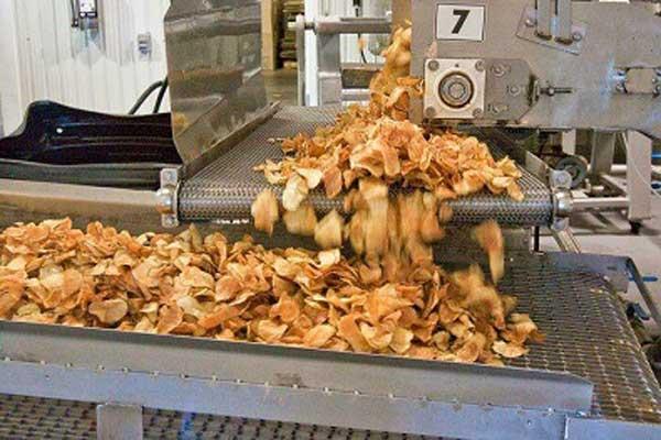 دستگاه خشک کن چیپس سیب زمینی