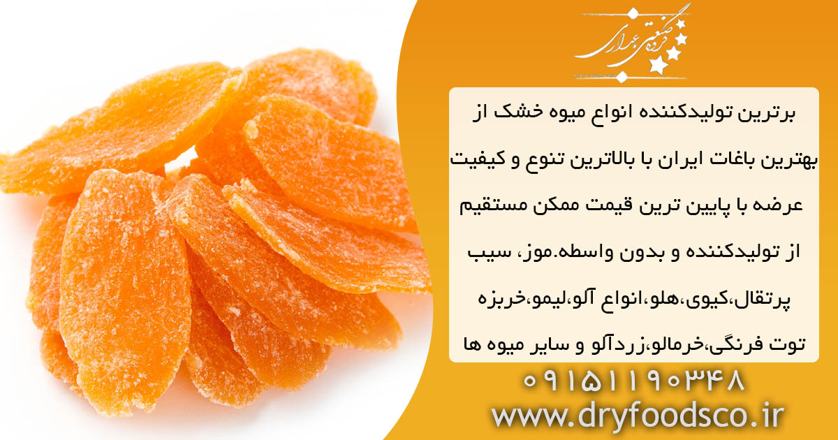 فروش میوه خشک استوایی