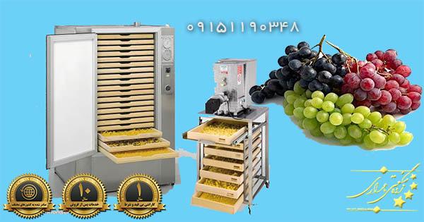 دستگاه خشک کن انگور