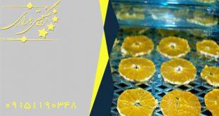 خشک کن میوه نیمه صنعتی دست دوم