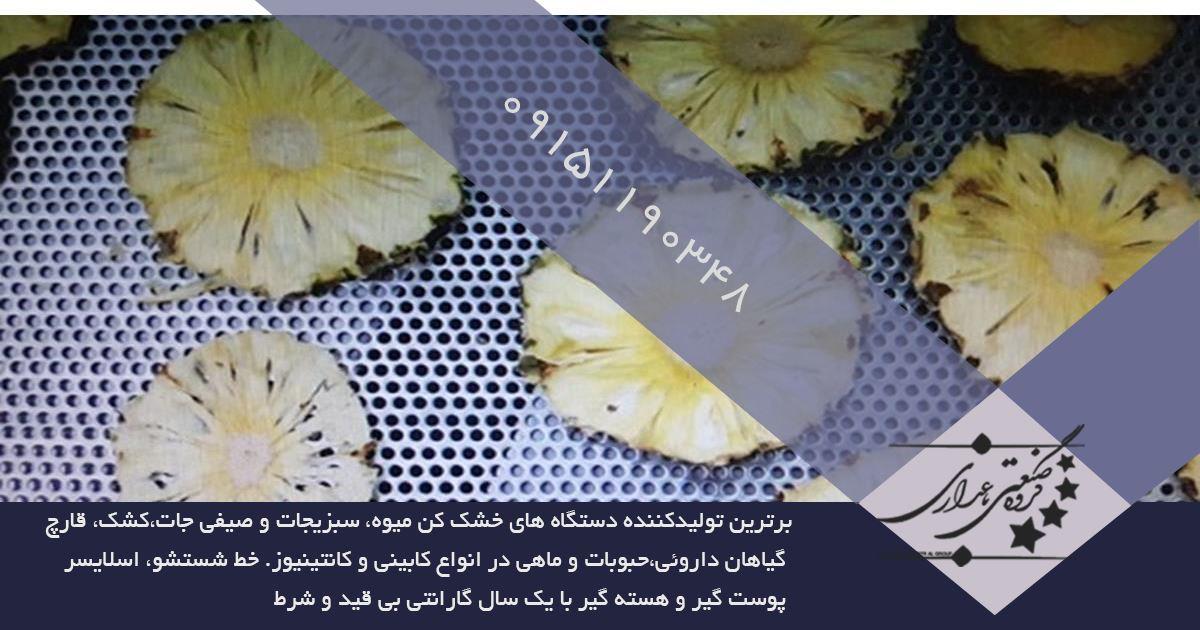 کاربرد دستگاه میوه خشک کن ایرانی