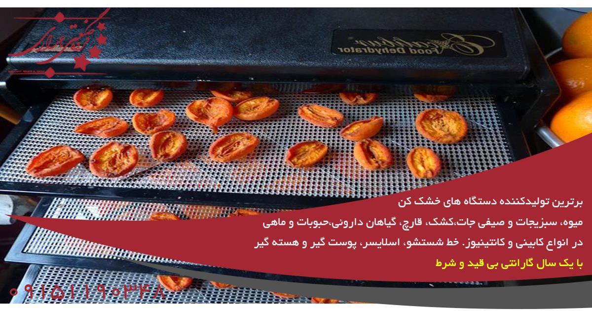 خرید دستگاه میوه خشک کن با کیفیت